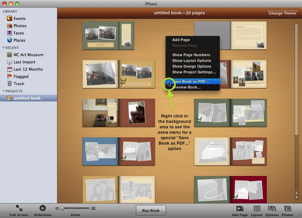 iPhoto Book Printing - Presto Yearbooks