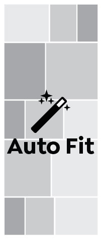 Auto Fit, Full Spread Narrow Portrait