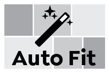 Auto Fit, Wide Landscape
