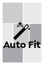 Auto Fit, Tall Portrait