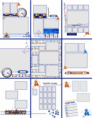 yearbook template word - 28 images - yearbook page templates for, Powerpoint templates