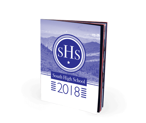 8.5x11 Saddle Stitch Softcover Yearbook